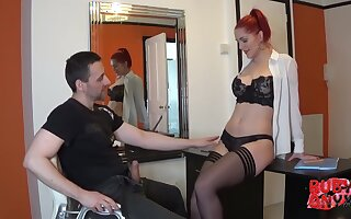 Ruby is an experienced, red haired secretary who likes to suck her bosss learn of to the fullest extent a finally at work