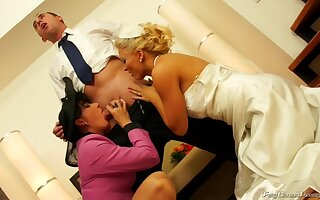 Bride Sex - Wedding Piling - 022