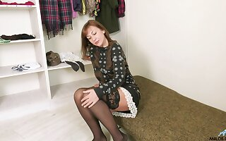 Taking aged woman Rafaella is craving for young defy