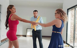 Guy cheats on his lady with zesty dance instructor Bridgette B.