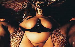 Goddess KATBOODAH'S Most Massive Thighs, Revere Fantasy 2