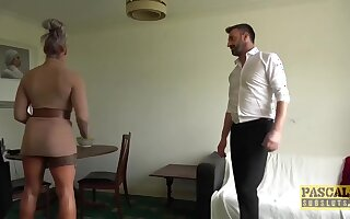 Busty Uk Brooke Jameson Rough Fucked Unconnected with Pascal