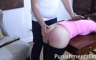 spanking upon tears - Babe in college