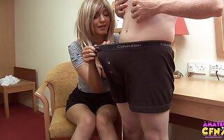 Homemade video of cock hungry blonde pet Mai Bailey okay her man