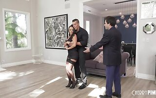 Dance instructor fucks get hitched in front of miserable hubbie