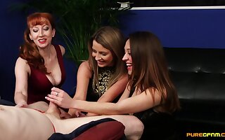 Marvelous moments of prurient pleasure these ladies provide
