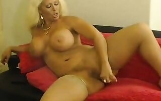 Alura playing with wet pussy
