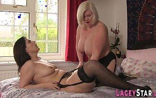 Naughty Granny Toying Lesbian - Hot Sex Video