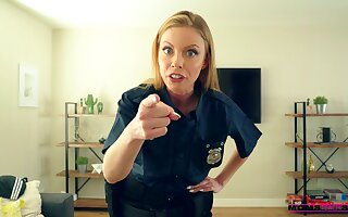 Well done blonde cop amazes with how acquiescent she can fuck