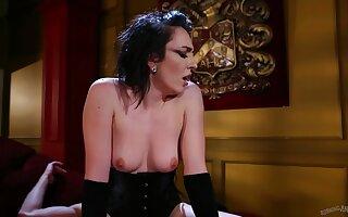 Hardcore fucking on dramatize expunge surprise with provocative Vada in corset