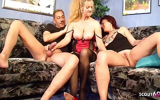 German Big Tits Mature Seduce Real Prop To Fuck Surrounding Front