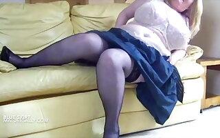 Vintage beamy boobs Grown up Sally