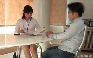 Spy cam relating to the living-room catches an amateur Japanese girl having sex
