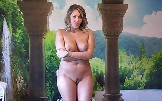 Stripped brunette mom on touching big ass - unexcelled audition