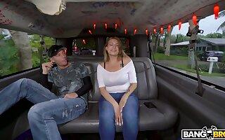 Amateur screwing in the van back fruitful ass Latina Nickiee. HD