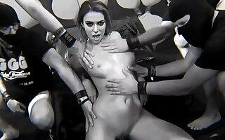 Libertine whores hot sex video