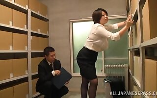 Japan grown up gets laid before office