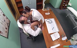 Insane nurse porn while both being filmed in secret