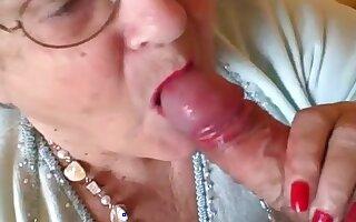 Libby Ellis Enjoys A Face Full Of Cum