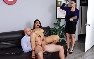 Katana Kombat & JMac in Teachers Lounge - BRAZZERS