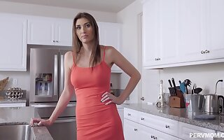 Angelina Diamanti is gently rubbing her clit while getting fucked, very early in the morning