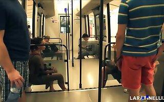 LARA TINELLI Flashing in Public