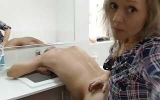 Eating, Rimming & Pegging his Ass in the Bathroom so I can Eat his Hot Cum - MIN MOO