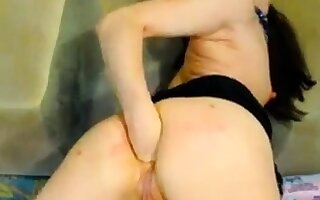 Hot Russian of age fisting beyond everything webcam