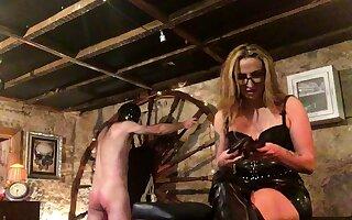 More Enjoyment With Spanky bdsm bondage slave femdom embrace b influence