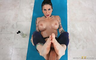 Inviting scenes of hardcore workout in anal POV with be transferred to wife