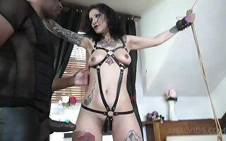 Natasha Tied Up And Assfucked Abiding