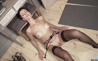 Daryna drops say no all round clothes all round tease and plays on touching say no all round muddied snatch