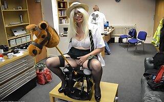 Skoolie Barby & The Replicate Dildo Rocking Horse - TacAmateurs
