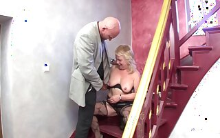Saggy tits pretty good mature spreads her legs to shot at profane sex