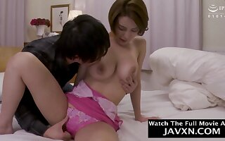 Japanese Mammy And Clamminess Stepson real cougar