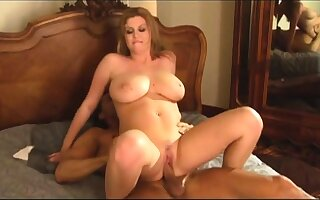 Interracial fucked leader firm milf