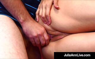 Tutor Fucking Period With Docent Julia Ann Banging Student!
