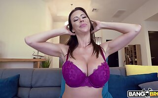 Busty mature Alexis Fawx fucked and gets say no to tits covered there cum