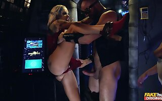 Imprecise making love for hammer away hot MILFs in scenes of wild BDSM action
